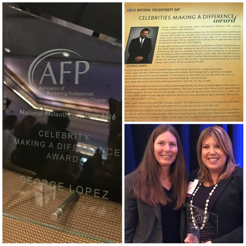 Association of Fundraising Professionals (AFP) George Lopez Foundation