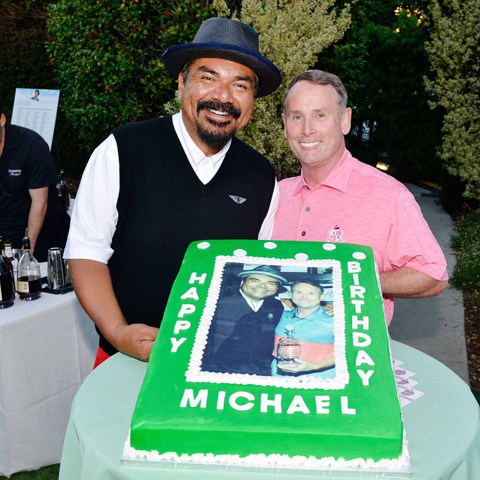 George Lopez and Michael G. Wilson at the 10th Anniversary George Lopez Celebrity Golf Classic