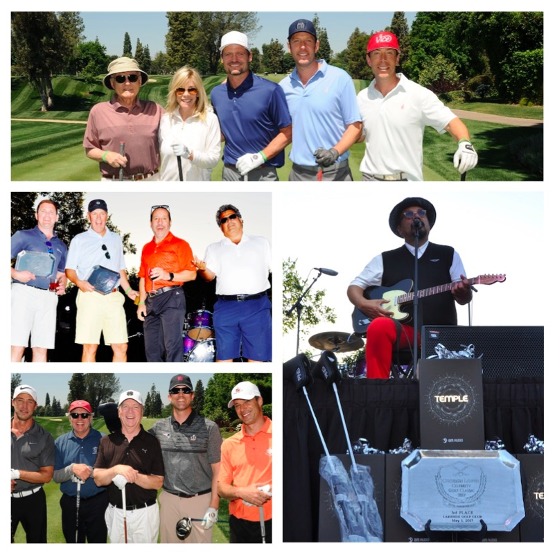 10th Annual George Lopez Celebrity Golf Classic Winning Teams