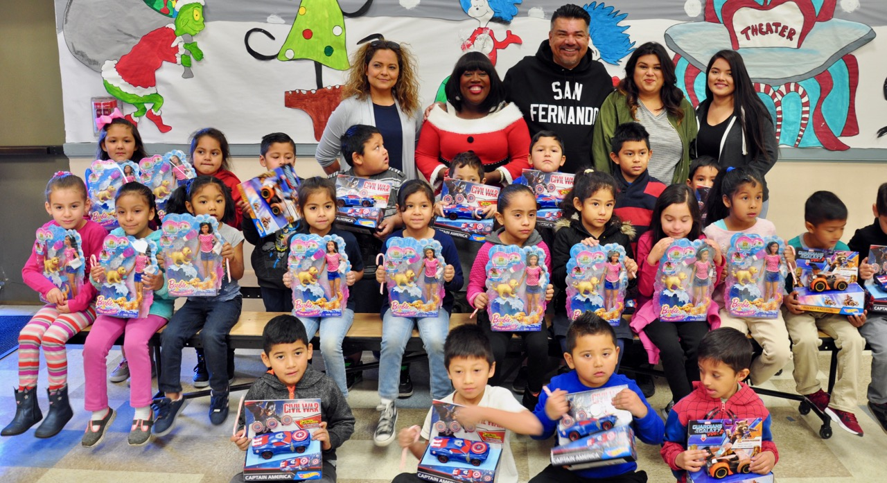 Holiday Toy Drive 2017 - George Lopez Foundation