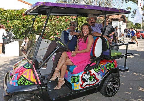 George Lopez Foundation Celebrity Golf Tournament - Arsenio Hall - George Lopez - Eva Longoria.jpg