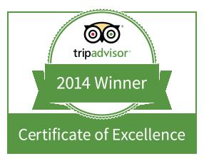 Rated #1 on Trip Advisor!