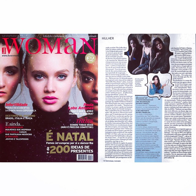 in Lux Woman Magazine: