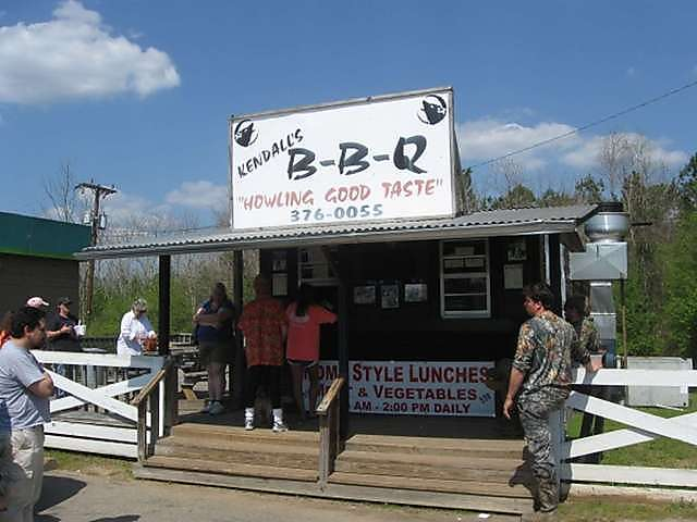At exit 114, Georgiana to the west is a BP Station and Kendall's BBQ which we highly recommend. Best to call ahead as there is usually a line. 334-376-0055.