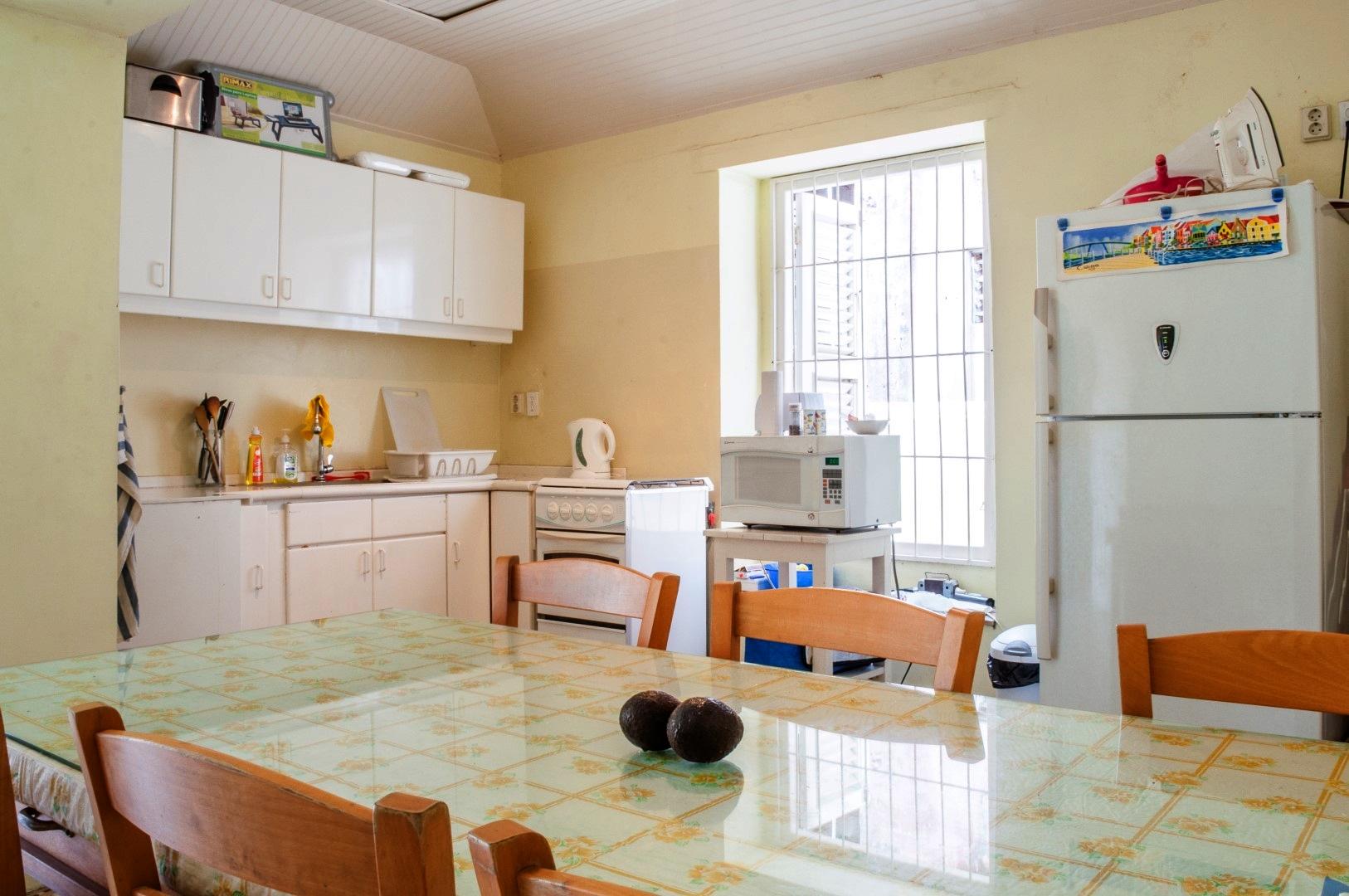Everything in the Kitchen is fully functional and equipped with the comforts of home.