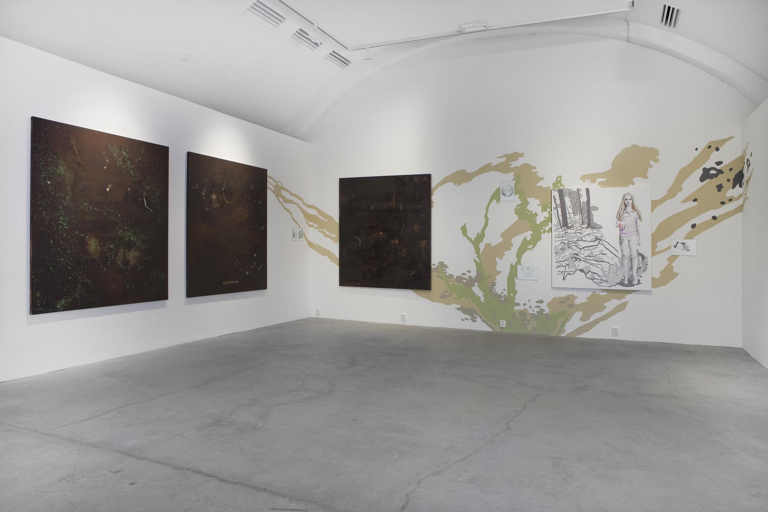 Anthrosol #1,2,3 kombinert med Tiril Schrøders arbeid