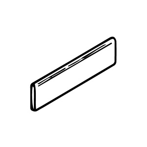 2 x 8 Surface Bullnose