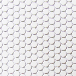 Penny Rounds White Gloss