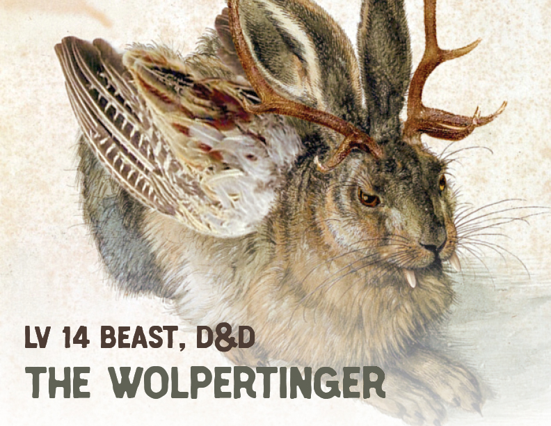 The Wolpertinger - D&D Beast