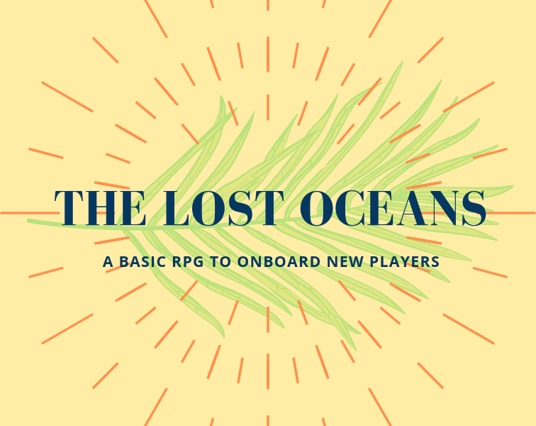 This Role Playing Game is designed to introduce new players to RPGs. This is a game for both experienced players and new players, and it's recommended that the experienced player takes on the role of the Game Master - or the narrator - for the first game. This game emphasizes roleplaying and teamwork, and rewards acting in character. There are no stats.   STORY   In the far, far future, you and your crew are employed by Archaic Space Architectural Preservation (ASAP) - an intergalactic survey branch of the Smithsonian. You are given coordinates and your missions require travel to far-away planets, moons, stars, and asteroids in order to search out, catalog, and record venerable ruins of alien civilizations. These places are long-abandoned, their histories lost.  Your ship is given orders and help by the friendly AI, who you affectionately call Gem. The game starts when you land on Arli Mas, a planet that used to be covered by water, but the planet's erratic orbit has changed the climate, turning the seabeds to deserts. You exit the ship, at what used to be a beach, and is now a cliff.  ----  All you need to play is 2-3 players and can be played with just a GM and player. Each character can roll up to three six-sided die.