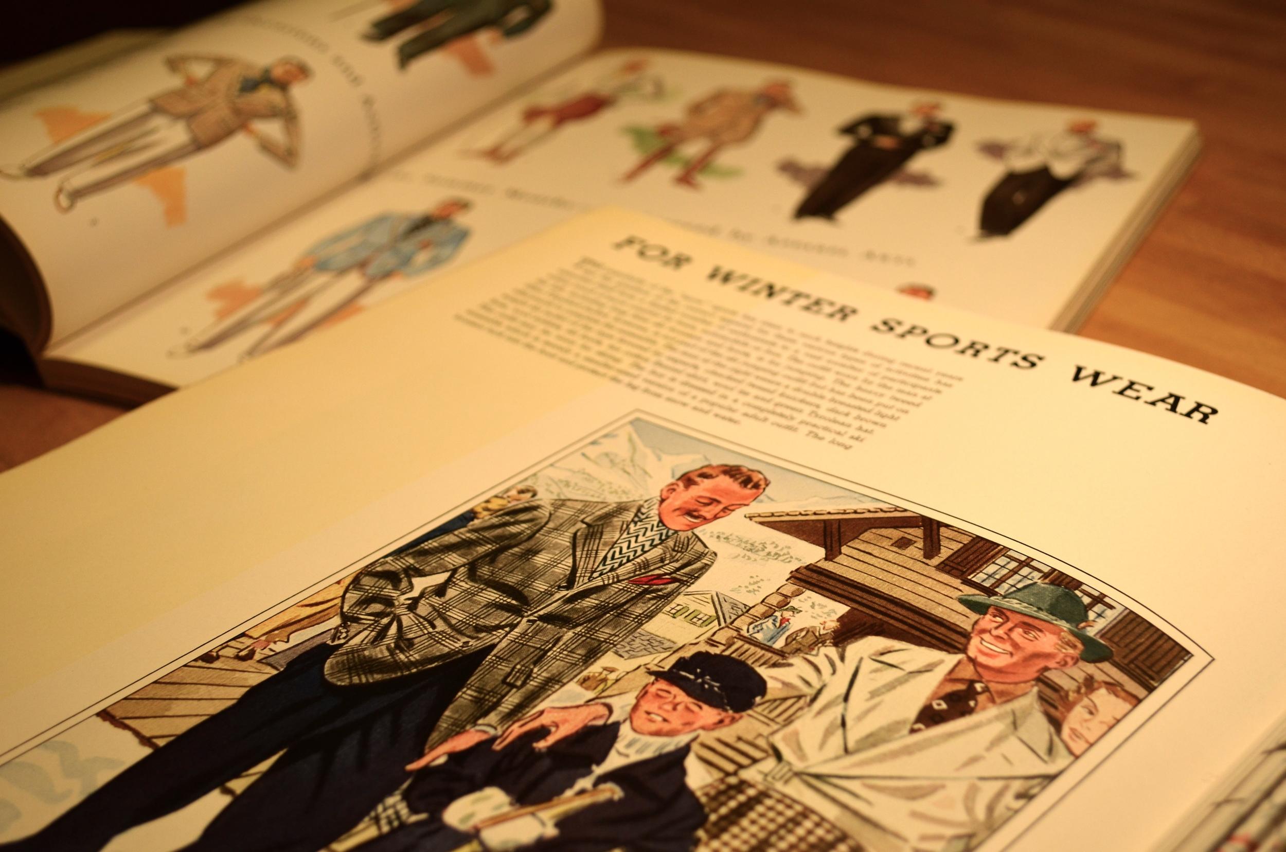 Illustrationsfrom Apparel Arts.