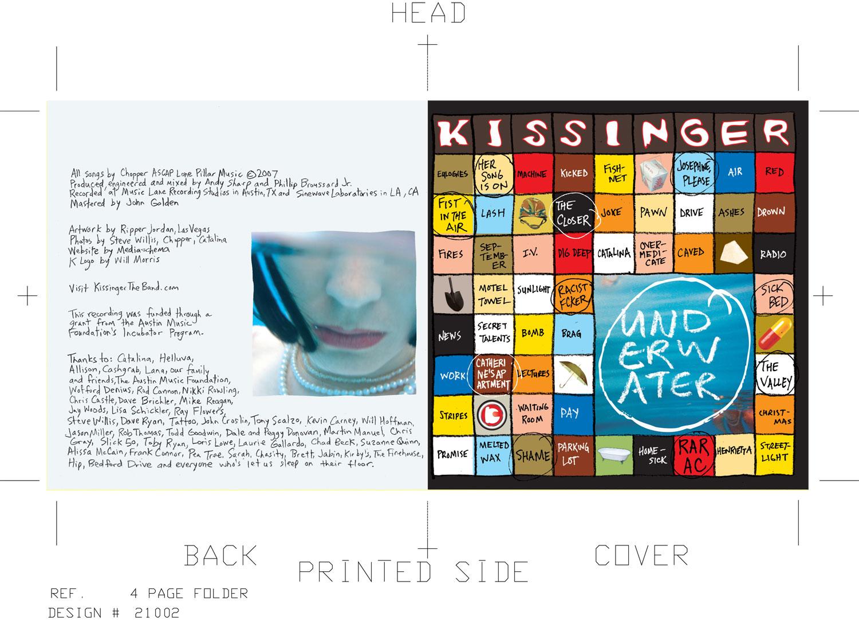Kissinger CD Booklet
