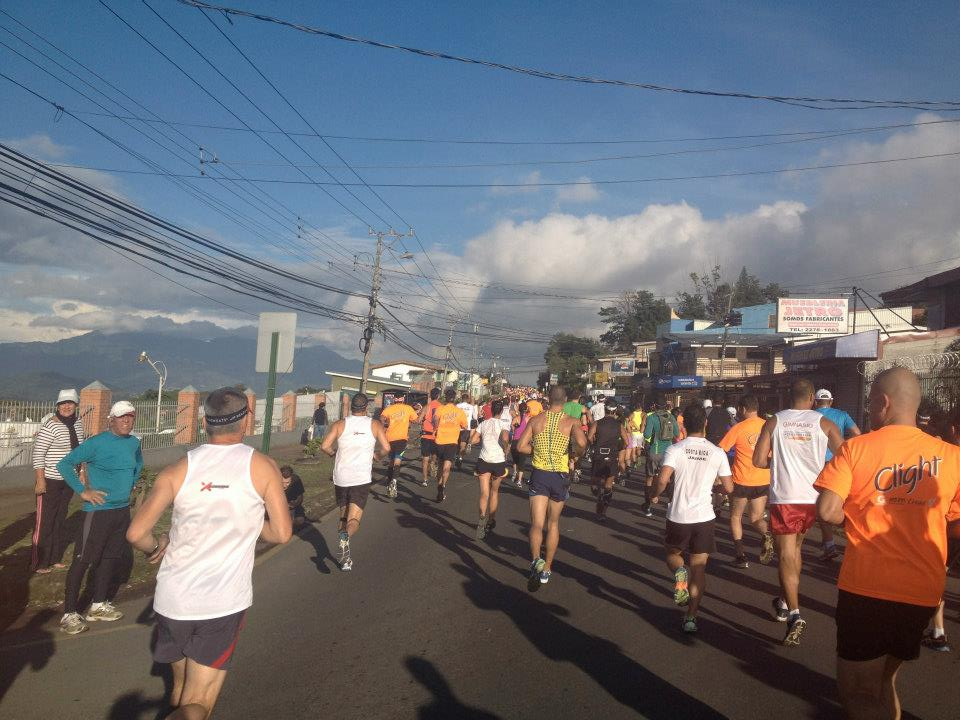 Correcaminos Half Marathon- Costa Rica: suchhh a pretty race