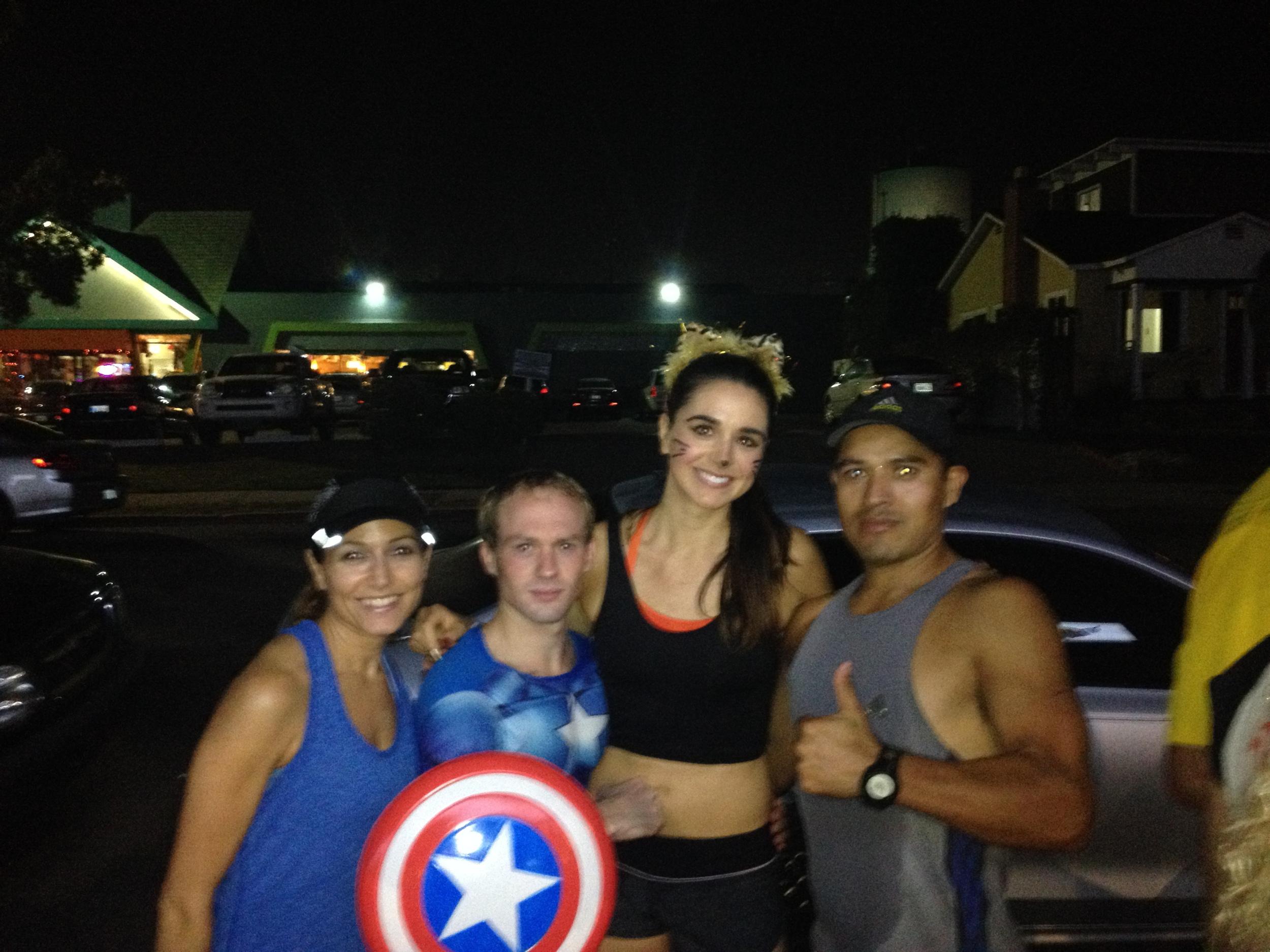 i am the self-proclaimed Khloe Kardash of the running community. awesome.