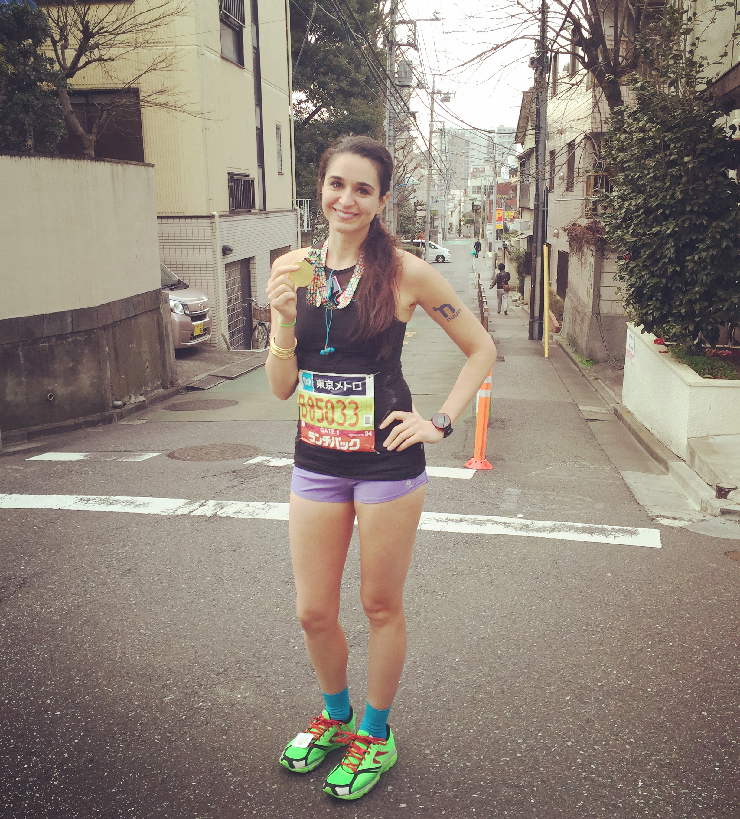 Marathon #6 of 6: TOKYOOOOO - too much time change + hills at end + long course= unsatisfying results (but with the knowledge that on a better day things could have been different! ;-)