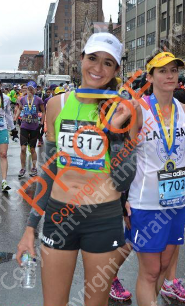 Marathon #4 of 6: BOSTON MARATHON- finally Boston! ;-) Sadly something I waited for for so long was tougher due to overtraining & tough weather. Oh well. Cannot wait for when I decide to go back. I have a feeling it will be VERY different.
