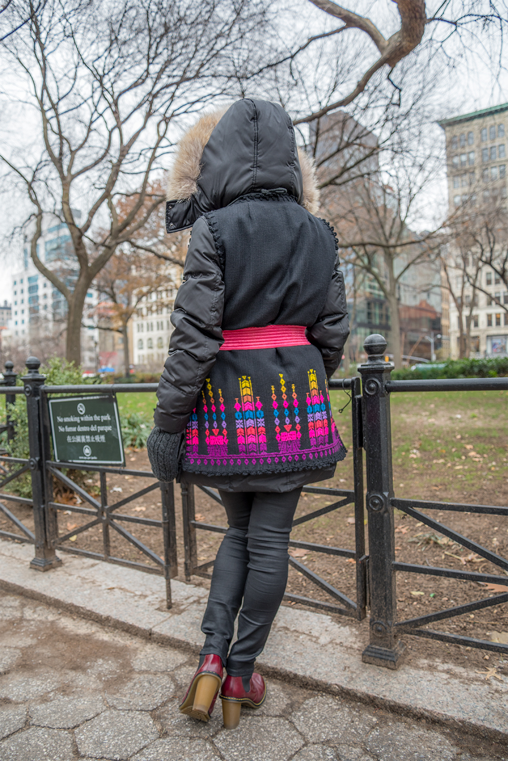 ROCK MAMA NYC LIFESTYLE BLOG - HOW TO MAKE A DOWN JACKET   CUTE