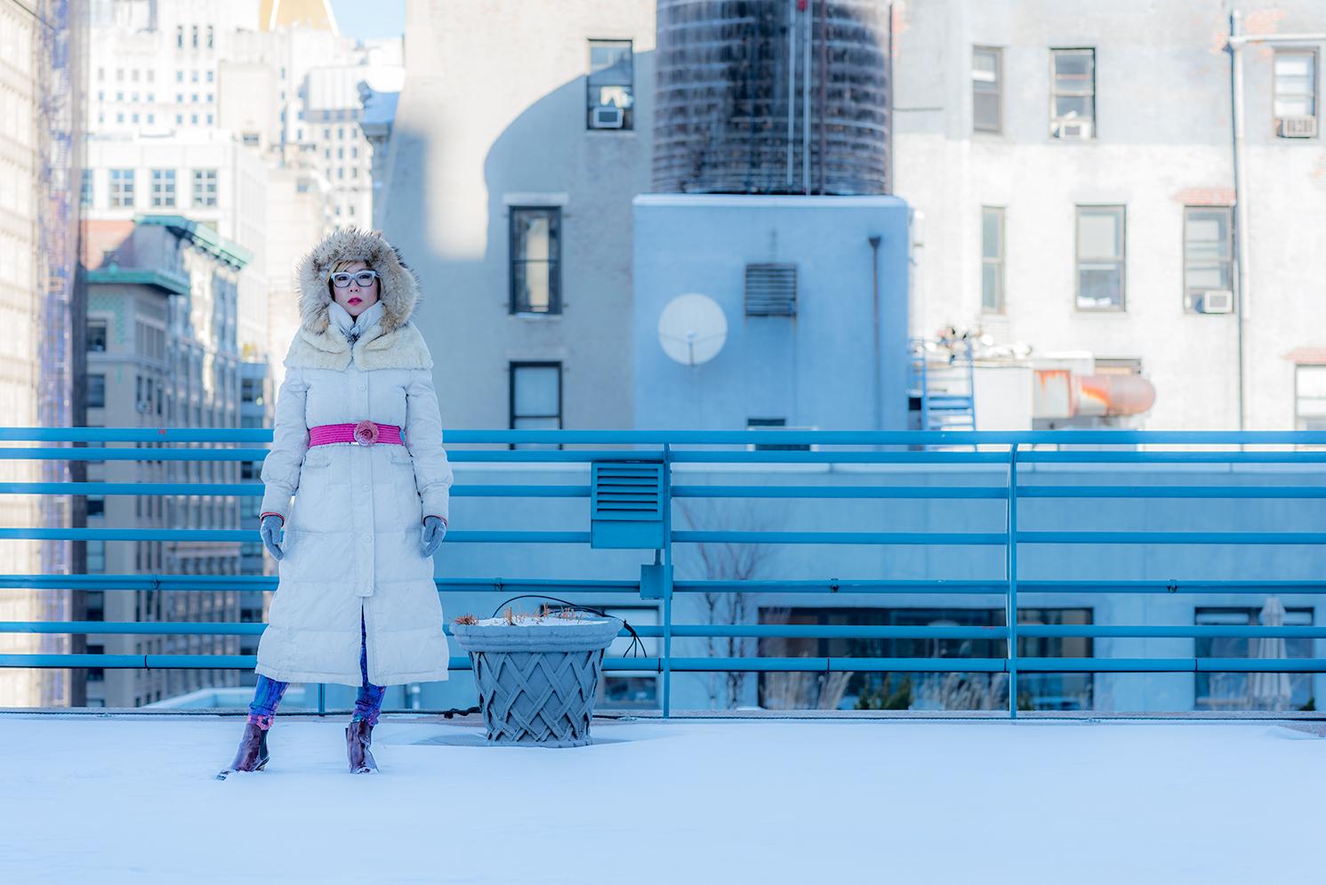 ROCK MAMA NYC LIFESTYLE BLOG - SNOW DAY IN MANHATTAN