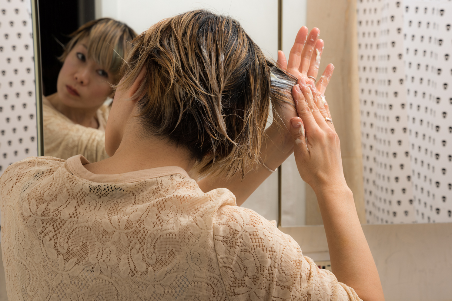 ROCK MAMA NYC LIFESTYLE BLOG - MAYONNAISE HAIR TREATMENT