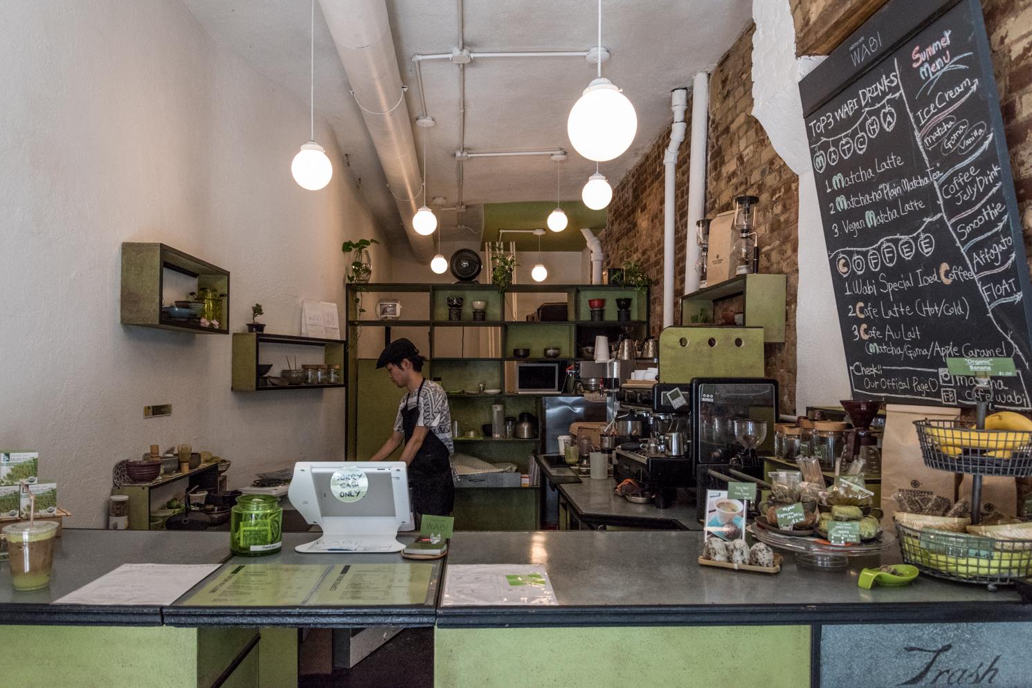ROCK MAMA NYC LIFESTYLE BLOG - WABI-MATCHA CAFE IN THE EAST VILLAGE