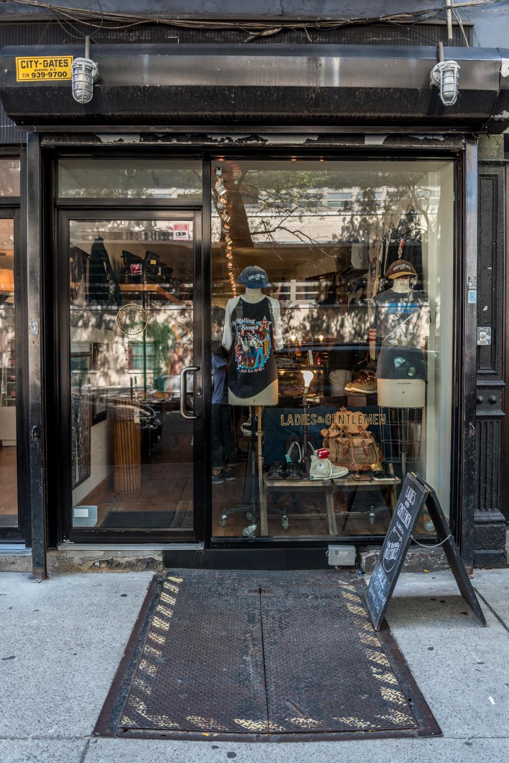 ROCK MAMA NYC LIFESTYLE BLOG - ladies and gentlemen vintage shop
