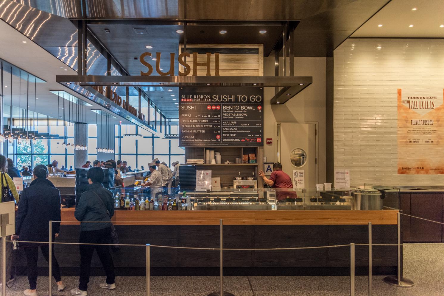 ROCK MAMA NYC LIFESTYLE BLOG - BLUE RIBBON SUSHI AT BROOKFIELD  PLACE