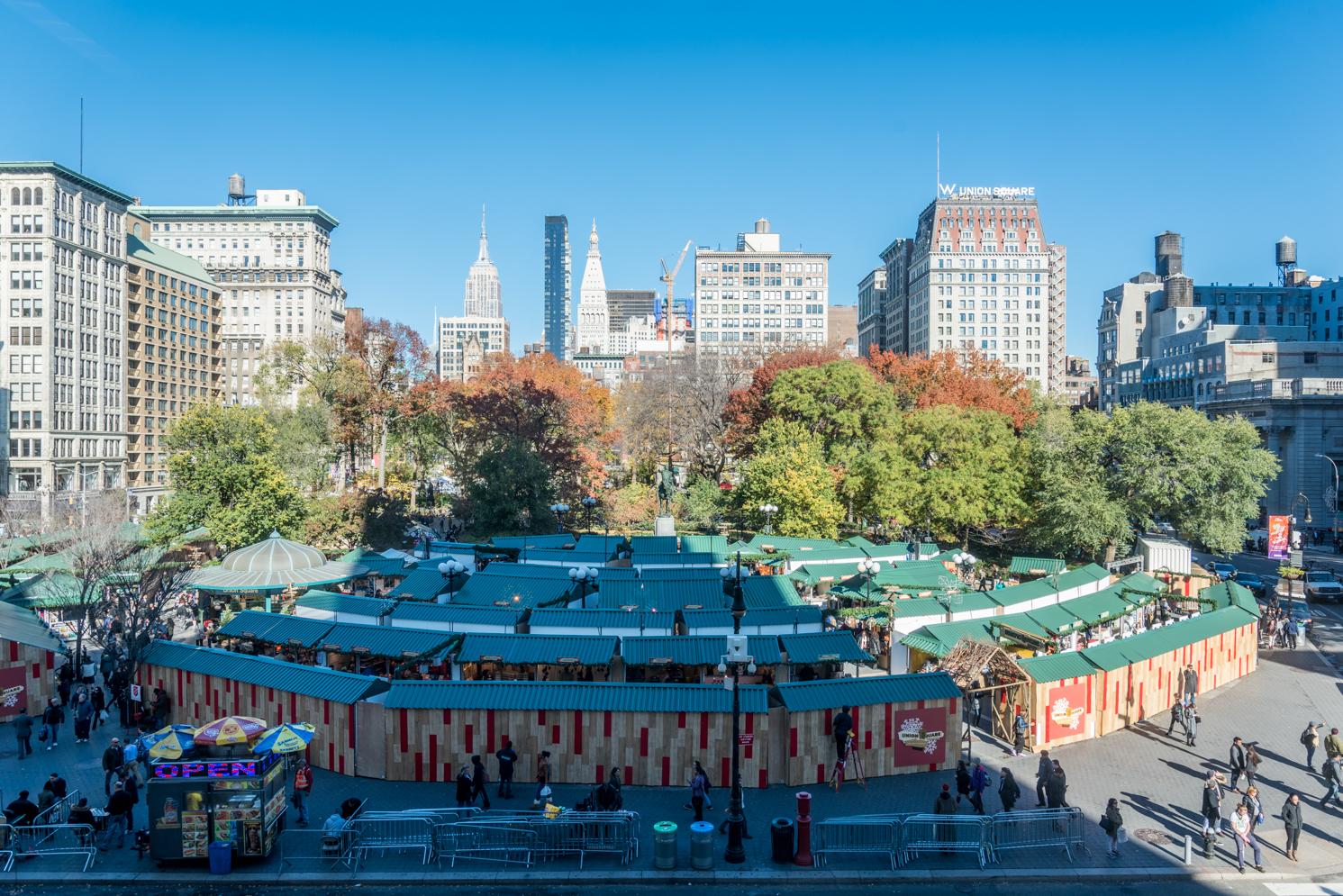 ROCK MAMA NYC LIFESTYLE BLOG - union square holiday market