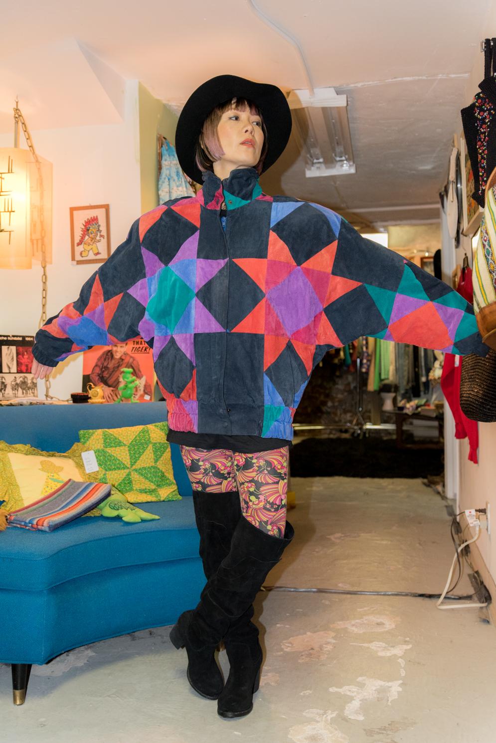 ROCK MAMA NYC LIFESTYLE BLOG - fun vintage jacket
