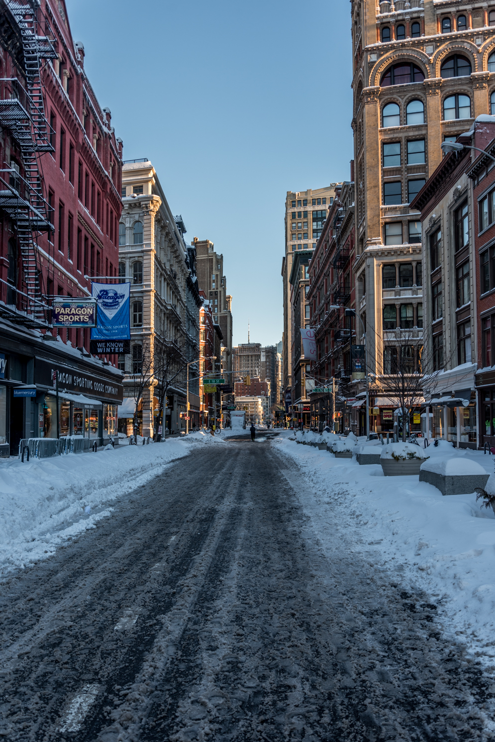 The Morning After The First Snow Storm of 2016 - NYC 3