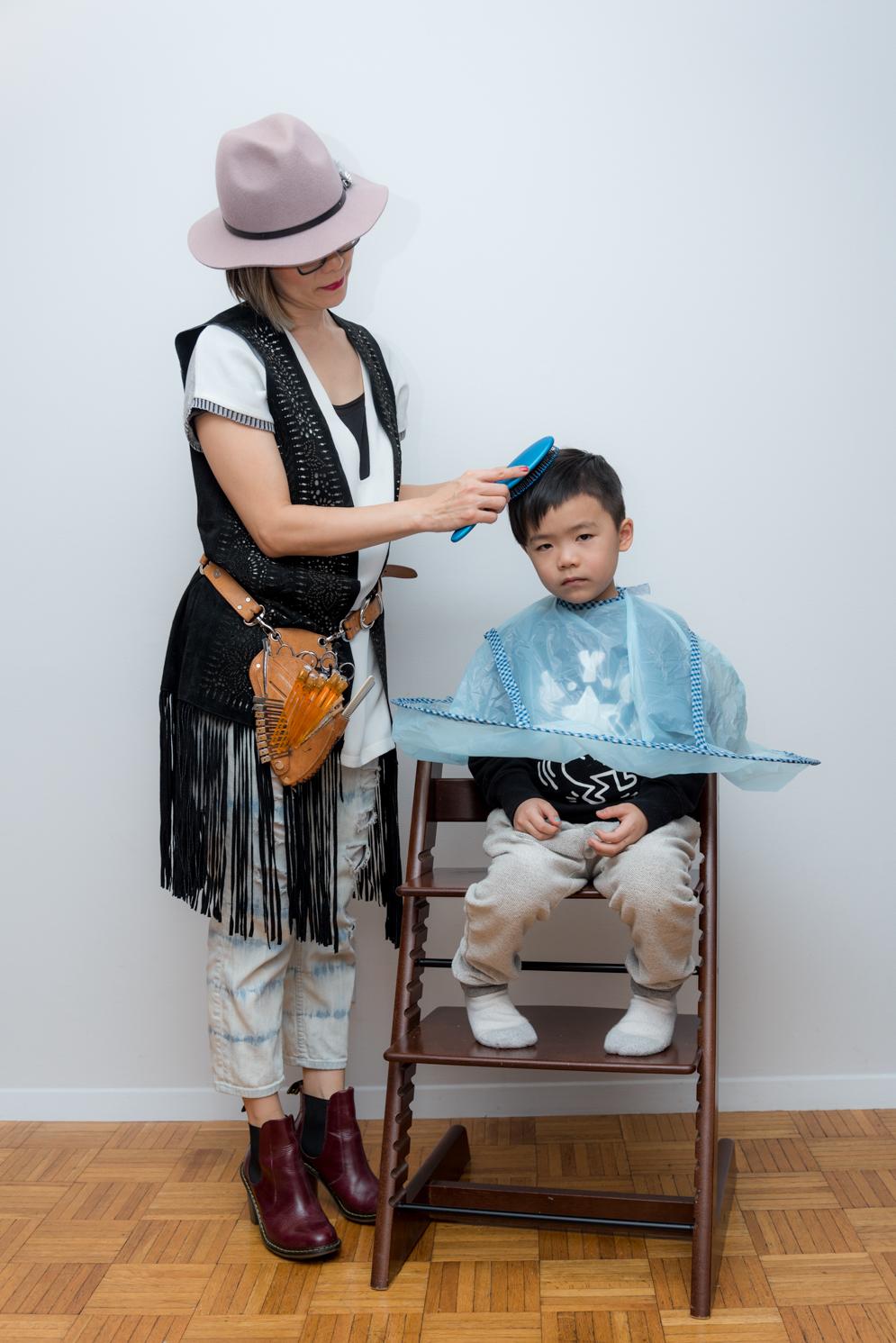 Rock mama nyc lifestyle blog - good tools for a kids haircut at home