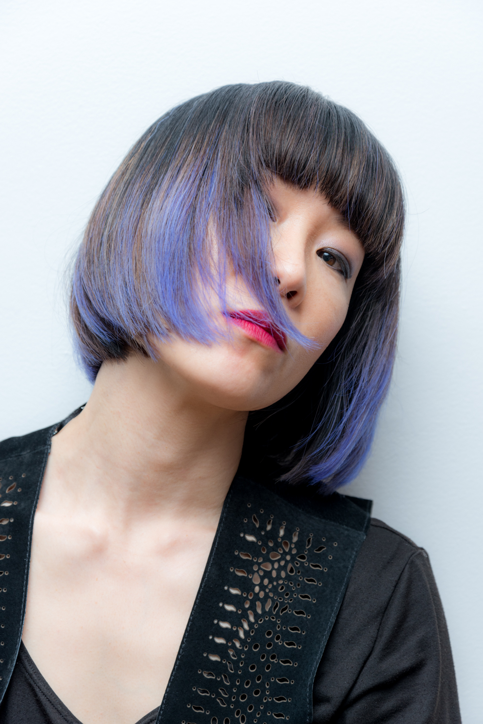 ROCK MAMA NYC LIFESTYLE BLOG - HOW TO COLOR YOUR HAIR PURPLE AT HOME