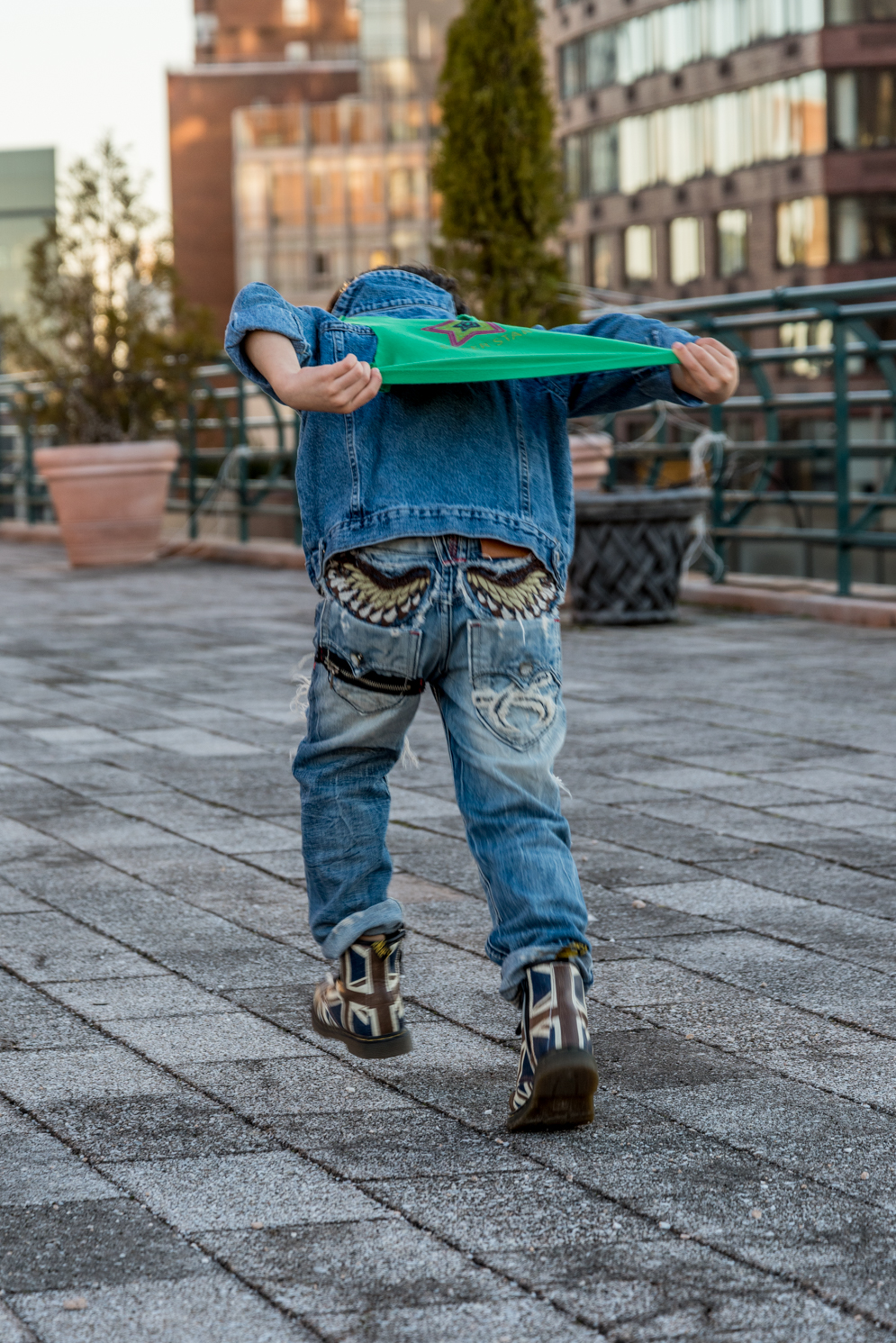 ROCK MAMA NYC LIFESTYLE BLOG - MOM AND SON DENIM ON DENIM STYLING