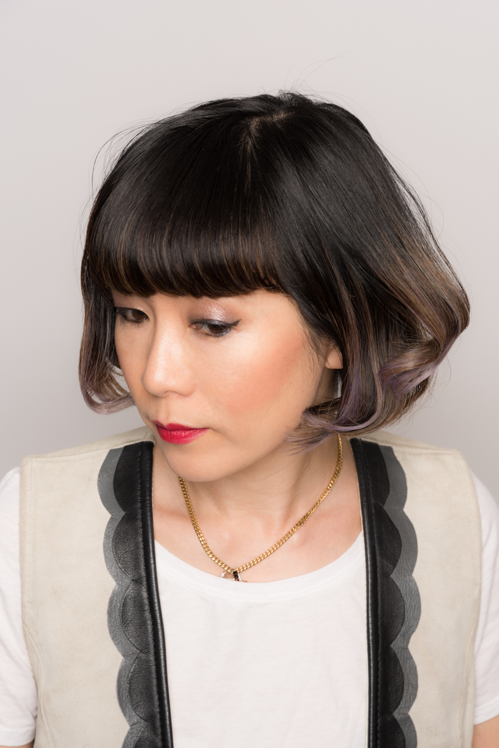 ROCK MAMA NYC LIFESTYLE BLOG -  HOW TO EASILY STYLE A SHORT BOB