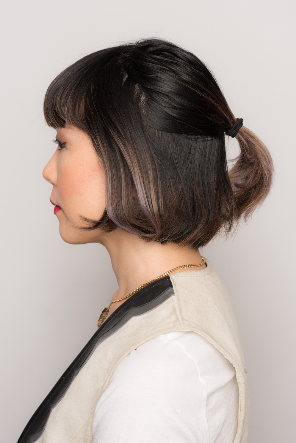 ROCK MAMA NYC LIFESTYLE BLOG -  HOW TO DO UP-DOS FOR SHORT BOB HAIR