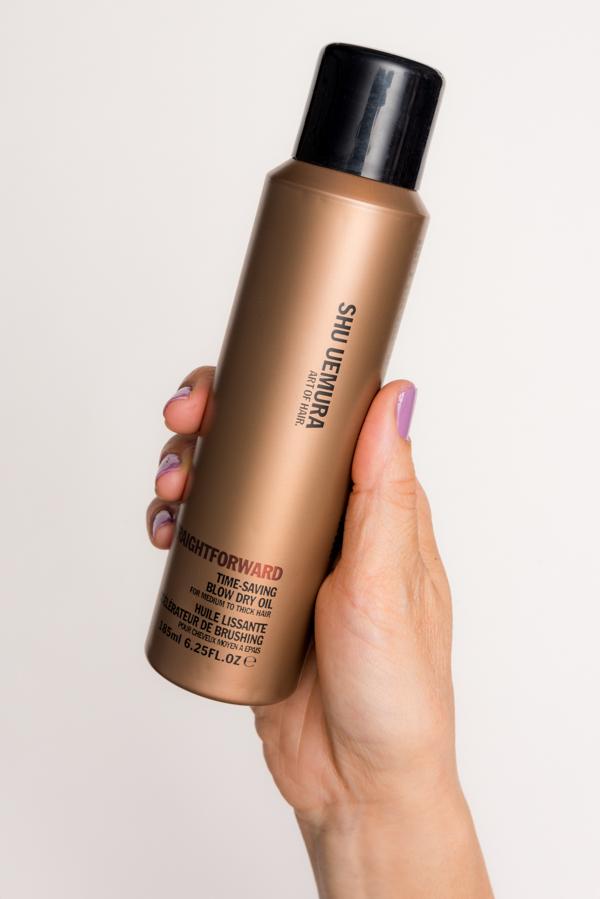 ROCK MAMA NYC LIFESTYLE BLOG -  How To Dry Your Hair Fast - Shu Uemura Srraightforward