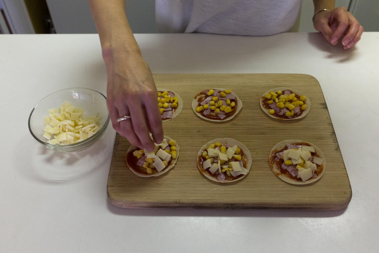 Gyoza Skin Pizza Recipe 6