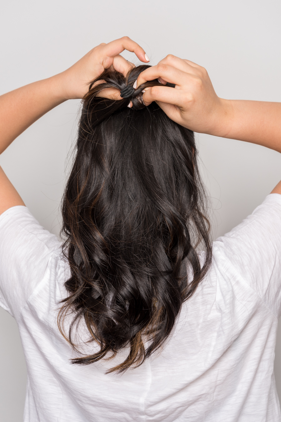 ROCK MAMA NYC LIFESTYLE BLOG - Super Easy 3minutes Hairstyle