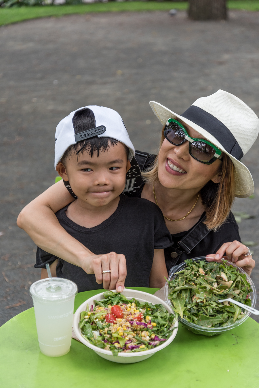 ROCK MAMA NYC LIFESTYLE BLOG-  THE MOST POPULAR SALAD IN THE CITY - SWEET GREEN
