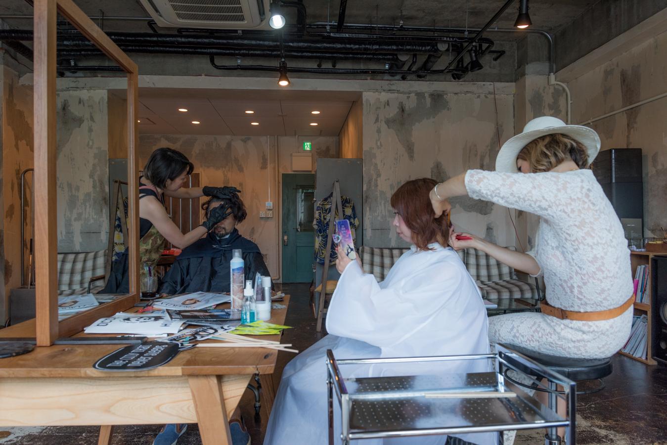 ROCK MAMA NYC LIFESTYLE BLOG-MY POP-UP HAIR SALON IN KYOTO JAPAN