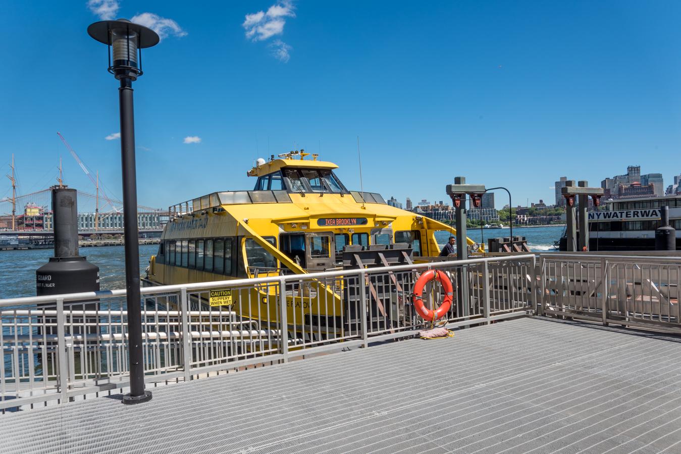 Rock Mama NYC lifestyle blog-New York Water Taxi - IKEA Express