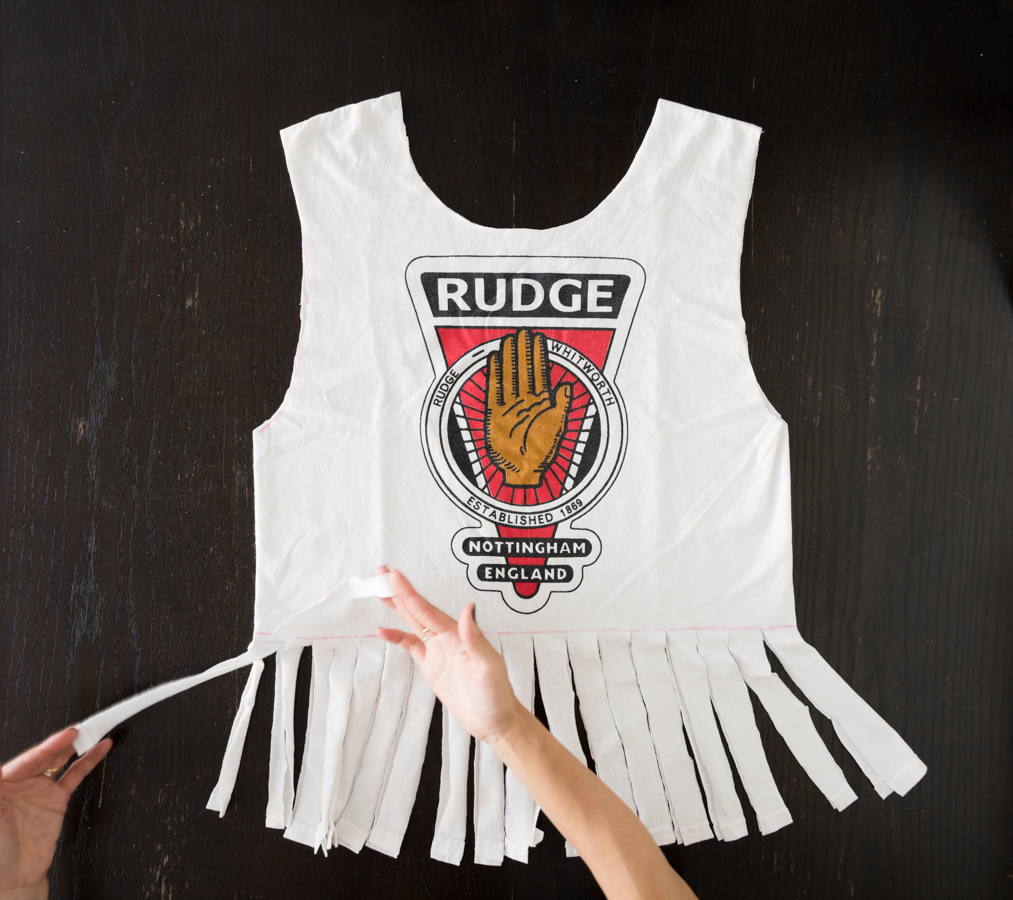 ROCKMAMANYC LIFESTYLE BLOB-  HOW TO MAKE A NO SEW T-SHIRTS FRINGE BAG