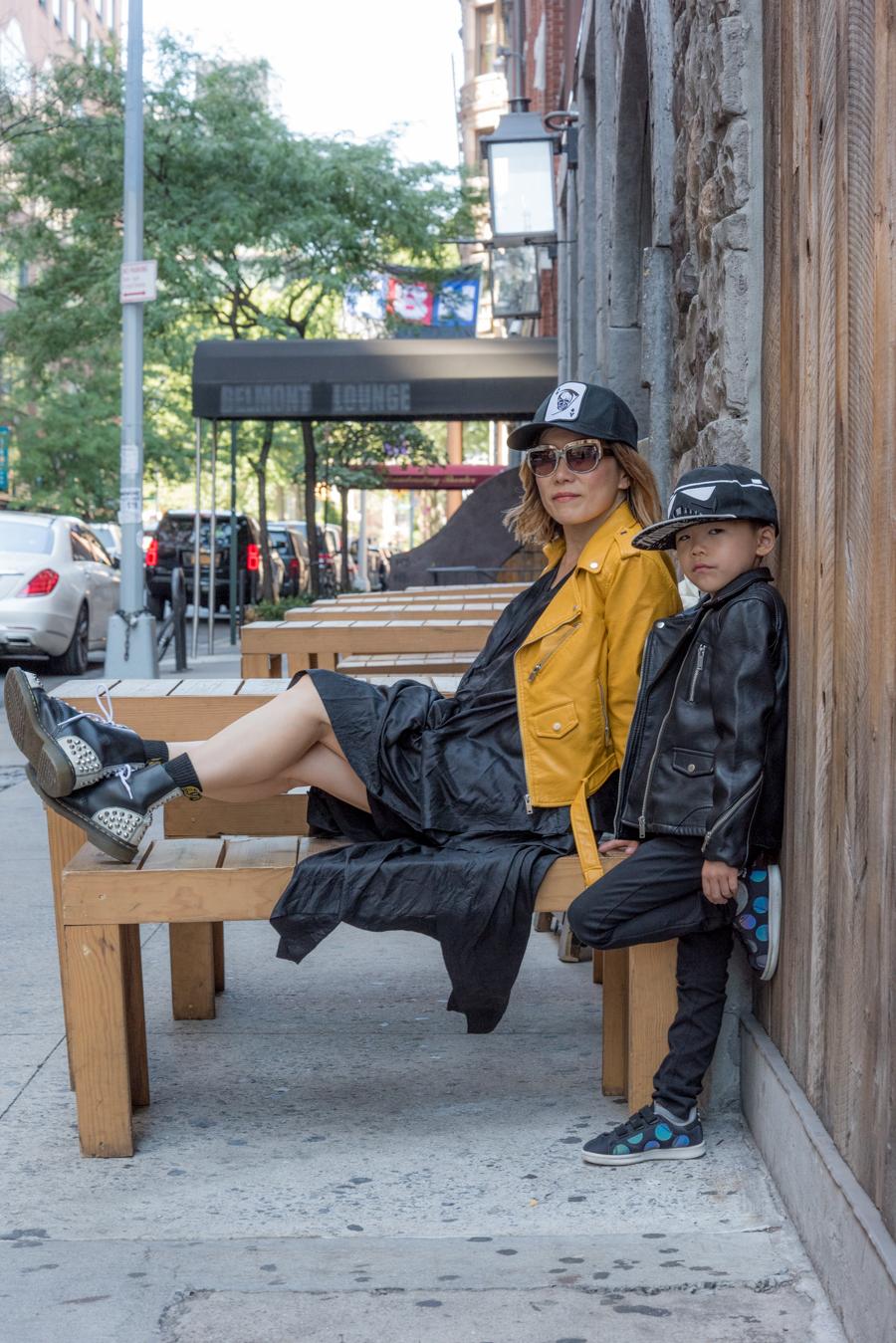 rock Mama nyc lifestyle blog-Mom And Son Fall Fashion 2016