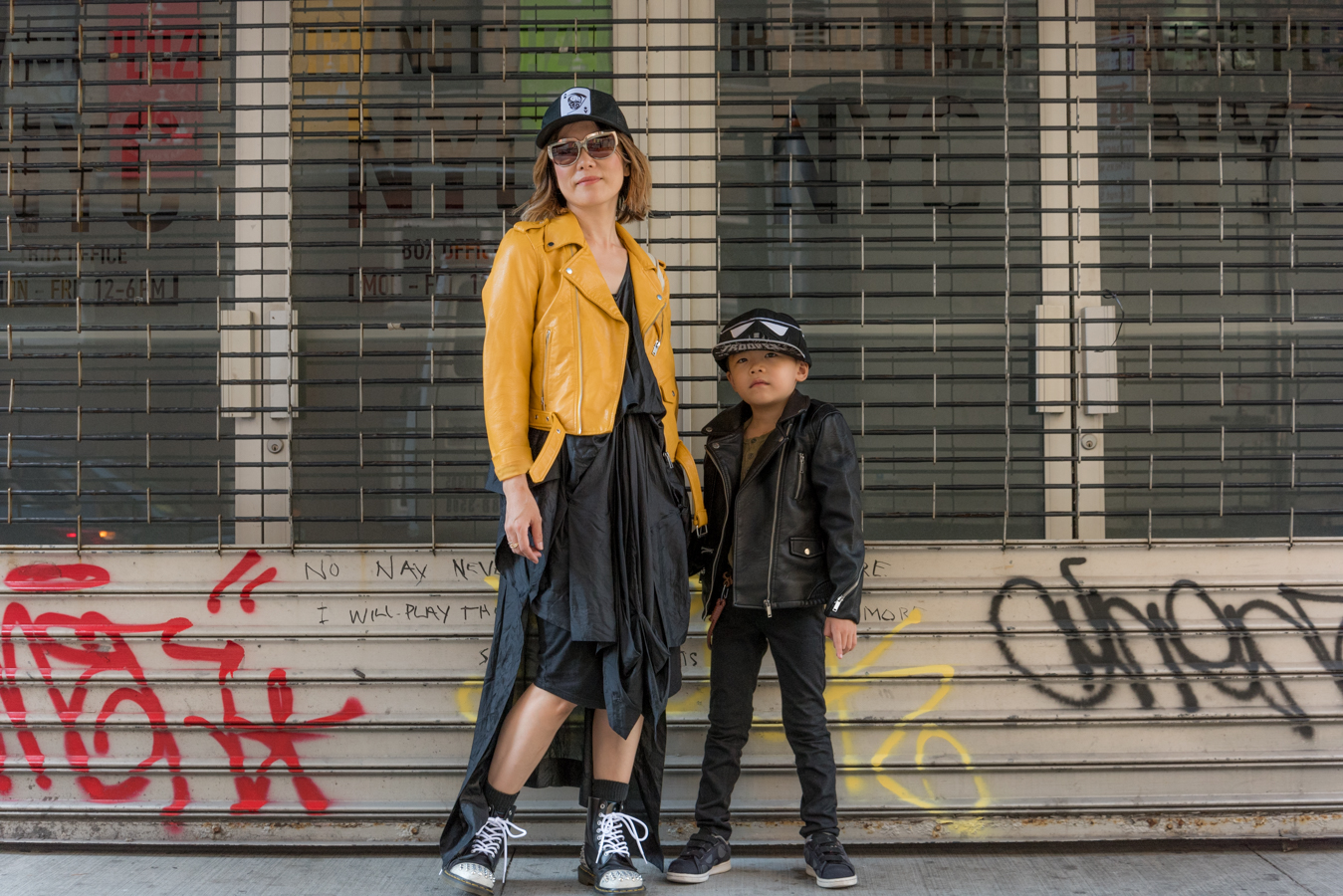 ROCK MAMA NYC LIFESTYLE BLOG-  MOM AND SON FALL FASHION 2016