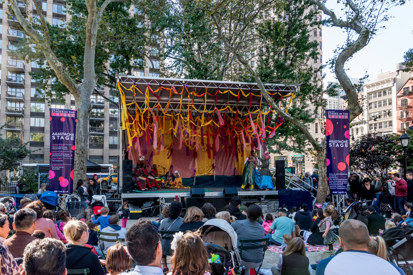 ROCK MAMA NYC LIFESTYLE BLOB-  KID'S FEST AT THE MADISON SQUARE PARK