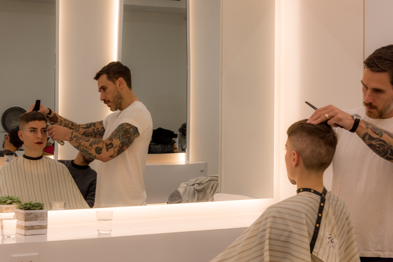 ROCK MAMA NYC LIFESTYLE BLOG-  HAIR STYLIST CONTINUING EDUCATION WITH ROB MCMILLEN FROM BLIND BARBER SHOP