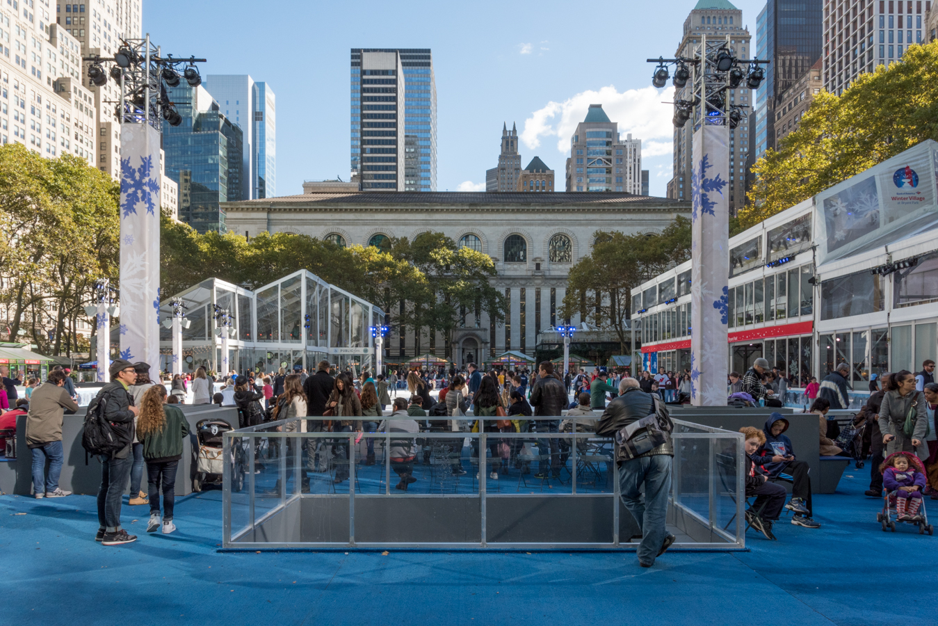 Rock Mama NYC Lifestyle blog-The Best Holiday Market To Go With Your Child In NYC - Bryant Park