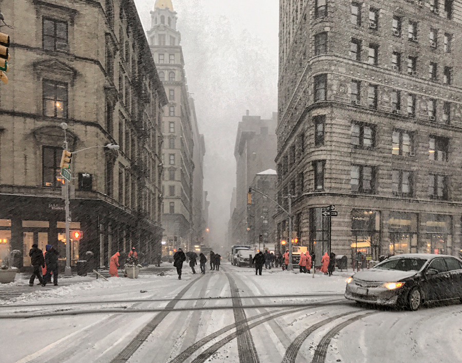 Rock mama nyc lifestyle blog-Snow Day In NYC February 2017
