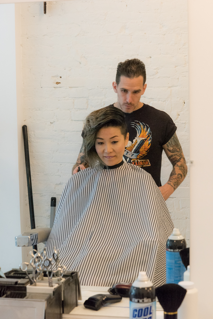 Cool Barber Shop In NY Mildred 大注目のカッコいいバーバーショップ In NY 7