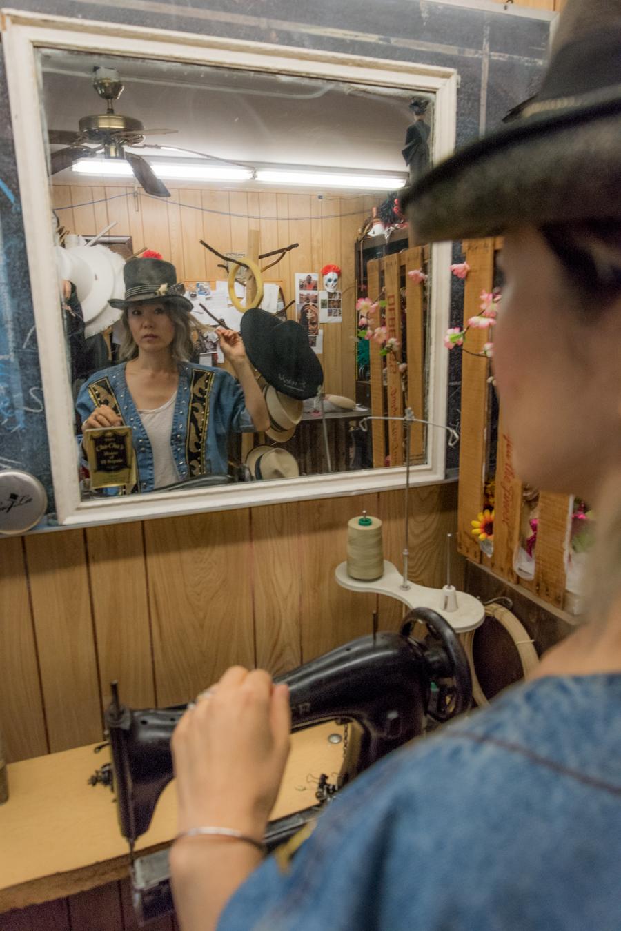 Custom Made Summer Hat At Cha-Cha House メイドインニューヨークオーダーメイドハット! 3