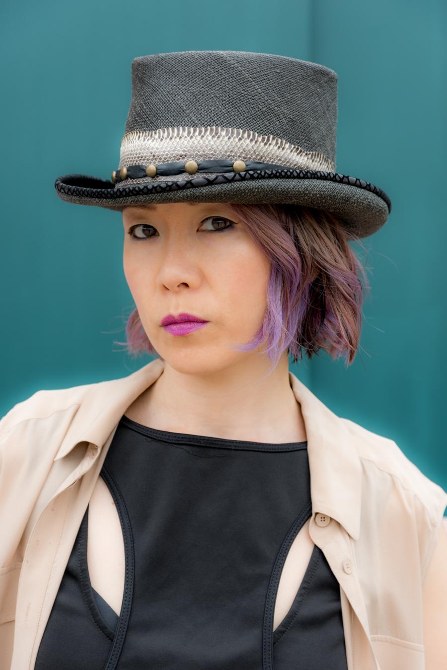 Custom Made Summer Hat At Cha-Cha House メイドインニューヨークオーダーメイドハット! 11